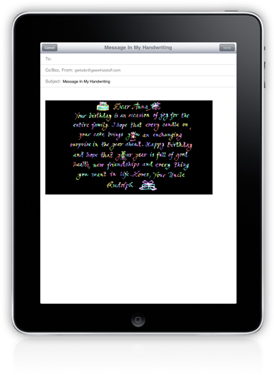 make lists on ipad