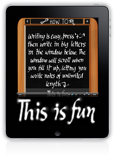 note taker for ipad